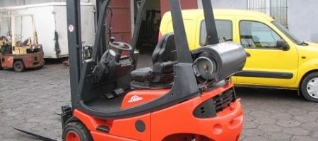 Wózek widłowy Linde H 16 T gazowy - seria 350