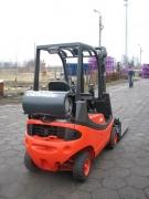 wózek widłowy linde h 16 t gazowy