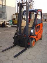 Wózek widłowy Linde H 16 T gazowy z kabiną - seria 350