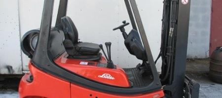 Wózek widłowy Linde H 18 T gazowy - seria 350