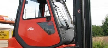 Wózek widłowy Linde H 25 D (diesel) z kabiną - seria 351