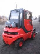 wózek z widłami linde h25t