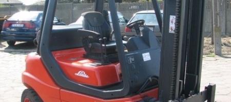 Wózki widłowe Linde H 30 T (gazowe) - seria 351