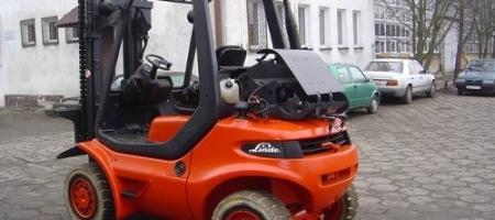 Wózki widłowe Linde H 35 T gazowe - seria 352