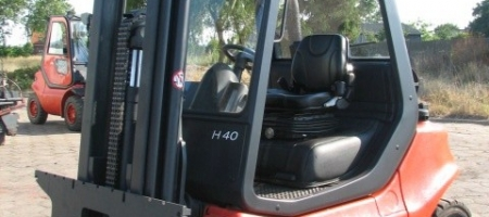 Wózki widłowe Linde H 40 gazowe- seria 352