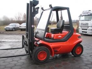 Wózki widłowe Linde H 45 D (diesel) seria 352