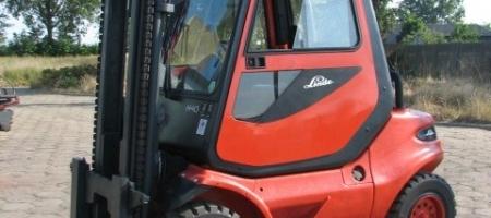 Wózki widłowe Linde H 45 D z kabiną