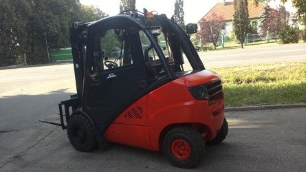 Odnowiony wózek Linde