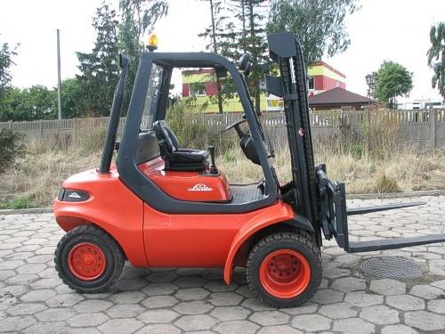 Używany wózek Linde
